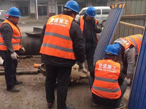 非开挖拉管施工工程