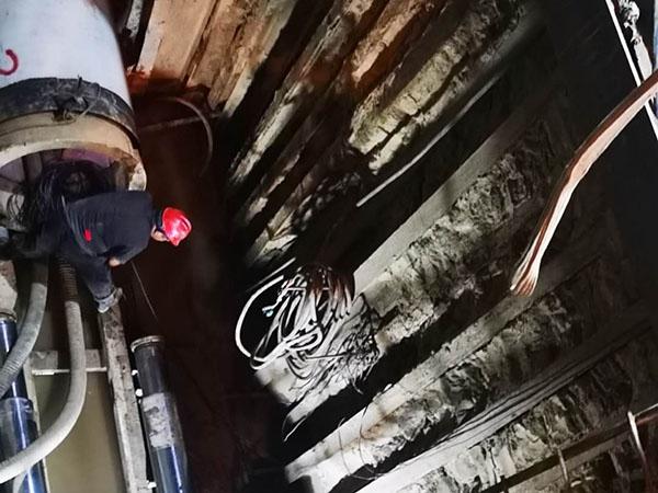 顶管管线施工