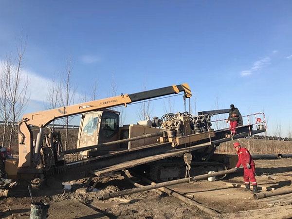 非开挖管道施工